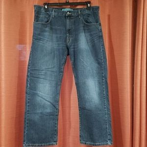 Lee Dungarees Straight Fit Jeans 38×30